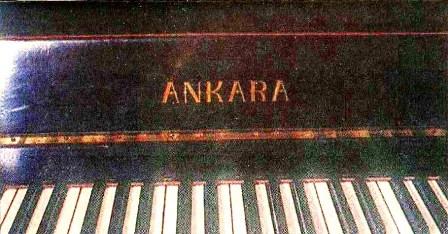 İlk Türk Piyanosu