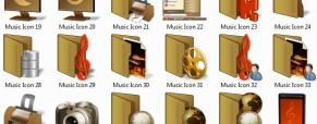 Müzik .ico dosyaları