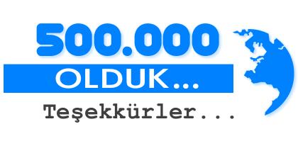 500.000 olduk