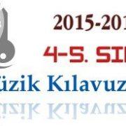 2015-2016 4-5. Sınıf Müzik Kılavuz Kitapları 4