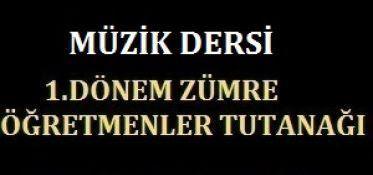 2015-2016 1.Dönem Müzik Zümresi 1