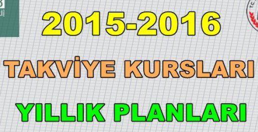 6.Sınıf Kurs Planı 1