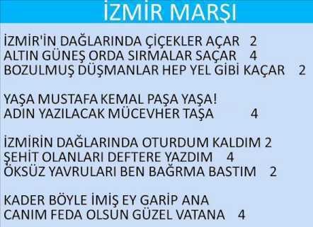 İzmir Marşı (Altyapı) 1