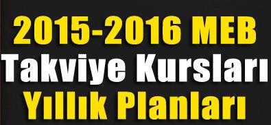 2015-2016 Müzik Takviye Kurs Planları 9-10-11. Sınıf 1