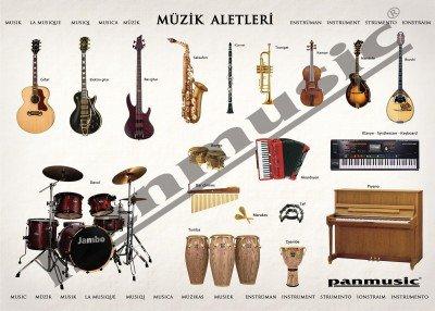 Müzik odanız için posterler 1