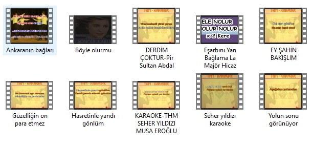 Türküler (Karaoke) 1