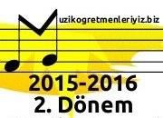 Müzik Dersi Zümresi