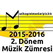 Müzik Dersi Zümreleri (2016) 1
