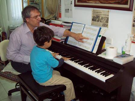 Keman ve piyanolu müzik kampı 1