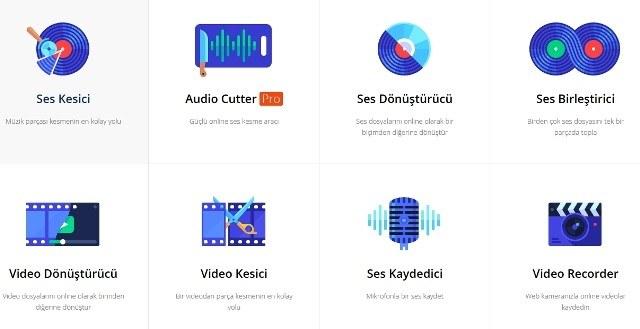 Ses ve Video Düzenleyiciler (Online) 1