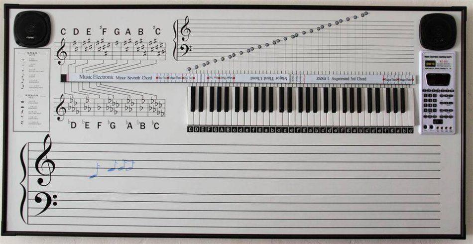 Fortune Elektronik Müzik Eğitim Tahtası 1