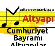 Cumhuriyet Bayramı (Altyapılar) 6