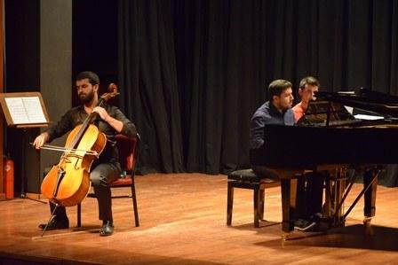 """Güzel Sanatlar Enstitüsü'nden """"Viyolonsel ve Piyano Resitali"""" 1"""