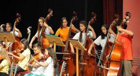 Çocuk Senfoni Orkestrası 'Cumhuriyet Konseri' ile izleyenleri büyüledi 2