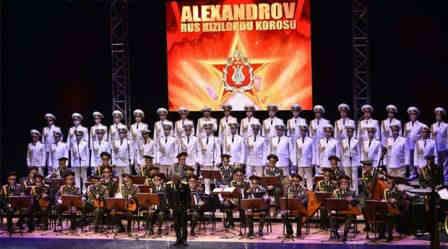Kızıl Ordu Korosu sustu 1