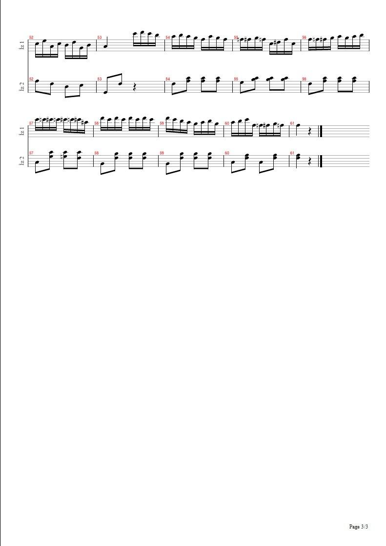 Türk Marşı - Turkish March (Rondo Alla Turca) Piano Sonata No. 11 K. 331 5