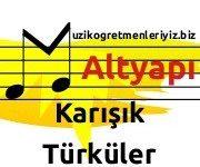 Karışık Türküler (Altyapı) 5