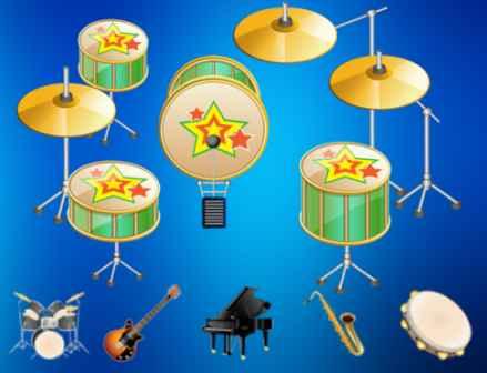 Müzik Aletleri Oyunu (Çizgifilm) 1