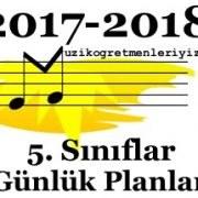 5. Sınıf Müzik Günlük Planlar 3