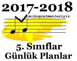 5. Sınıf Müzik Günlük Planlar 1