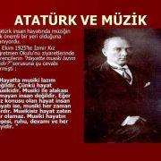 Atatürk'ün sanatçı kişiliğinin sanata ve sanatçıya bakışına etkileri 1