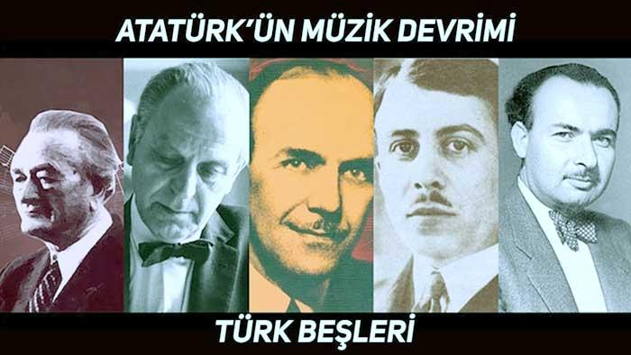 Müzik Panosu İçin Türk Besteciler 1