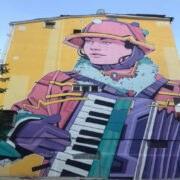 Ordu Altınordu'da Akordeon ile Duvar Sanatı 1